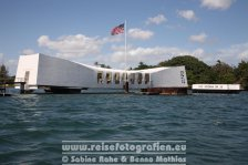 USA | Hawaii | Oahu | Honolulu | Pearl Harbour | USS Arizona Memorial |